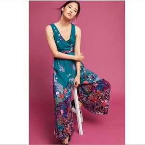 Anthropologie Andalusia Jumpsuit